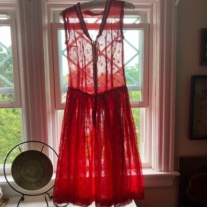 Vintage Summer Party Dress (late 1950s? 1960?)